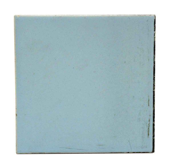 Wall Tiles - Light Blue Matte Ceramic 6 in. Tile