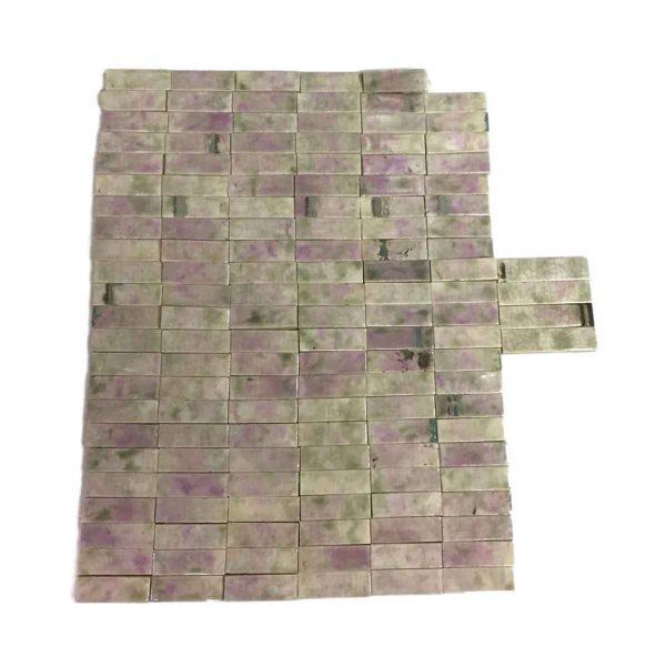 Wall Tiles - Purple & Green Trent Fireplace Tiles