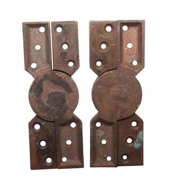 Door Hinges - Vntage Bronze Pair of Window Hinges