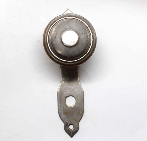 Door Knob Sets - Brass Nickel Plated Door Knob Set
