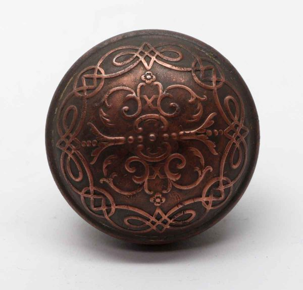 Door Knobs - Antique Bronze Castilian Branford Passage Door Knob