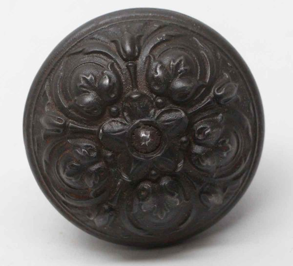 Door Knobs - Antique Italian Renaissance Pasco Cast Iron Door Knob