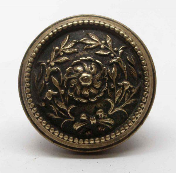 Door Knobs - Antique Louis XVI  Courtray Brass Door Knob