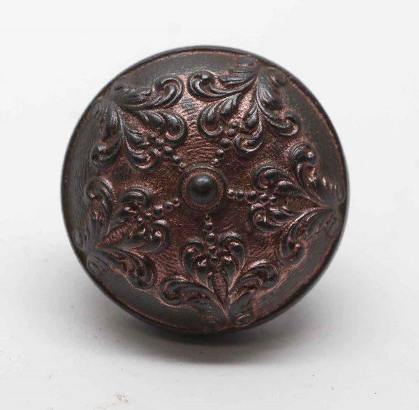 Door Knobs - Antique Malden Cast Iron Bronze Plated Door Knob