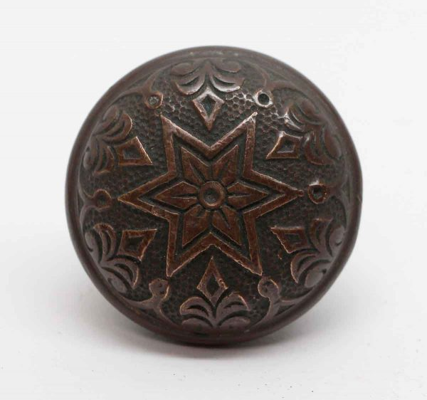Door Knobs - Antique Phoenix Lock Works Bronze Door Knob
