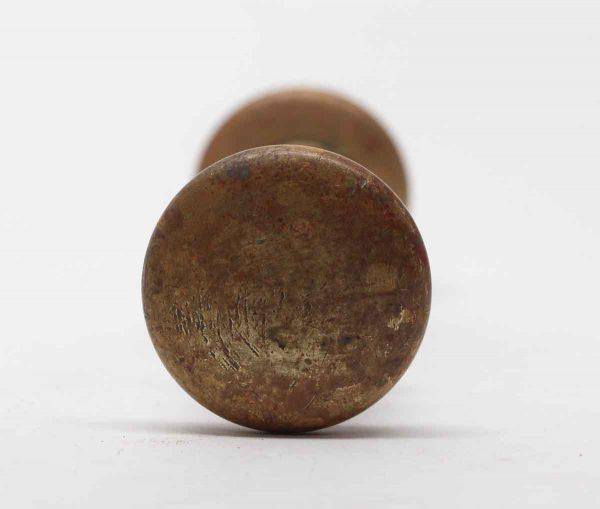 Door Knobs - Pair of 1.75 in. Round Brass Door Knobs
