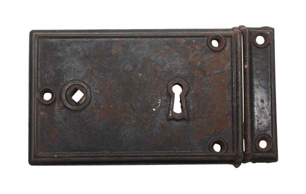 Door Locks - Cast Iron 7.25 in. Antique Rim Lock