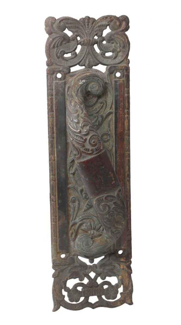 Door Pulls - Columbian Bronze Antique Door Pull Handle