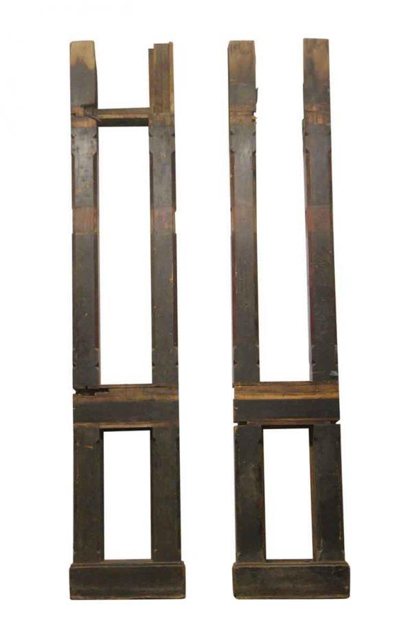 Door Surrounds - Architectural Mahogany Door Side Light Wood Frames