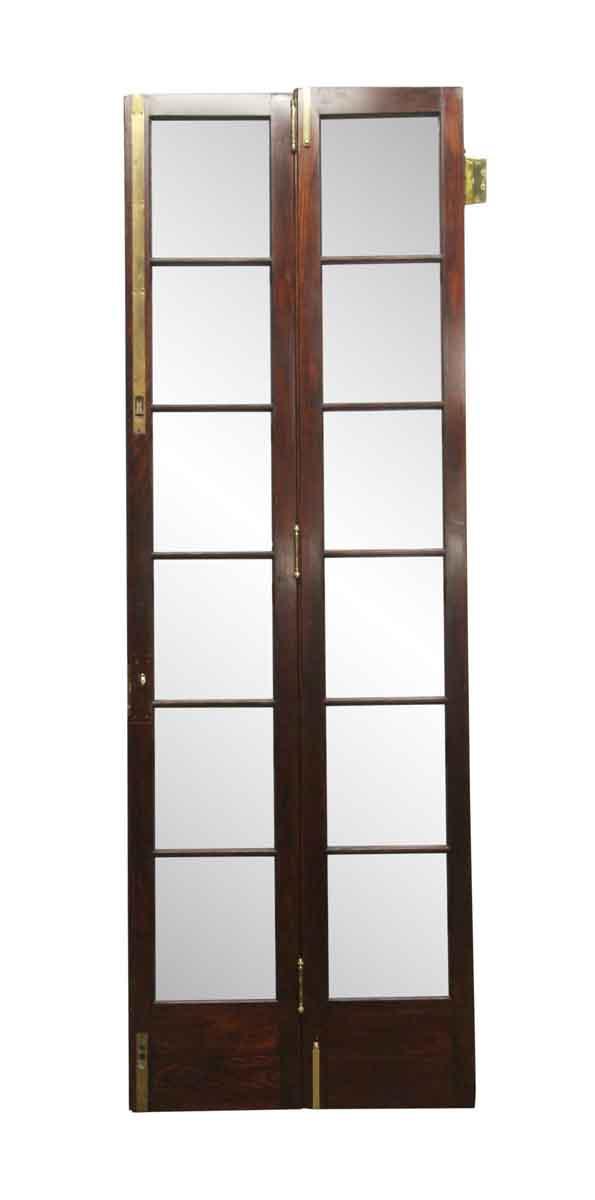French Doors - Vintage 12 Lite Bi-Fold Doors 106 x 36