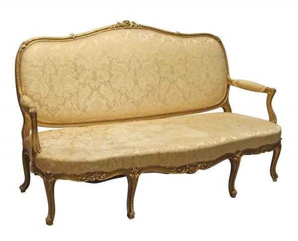 Living Room - 19th Century Victorian Love Seat