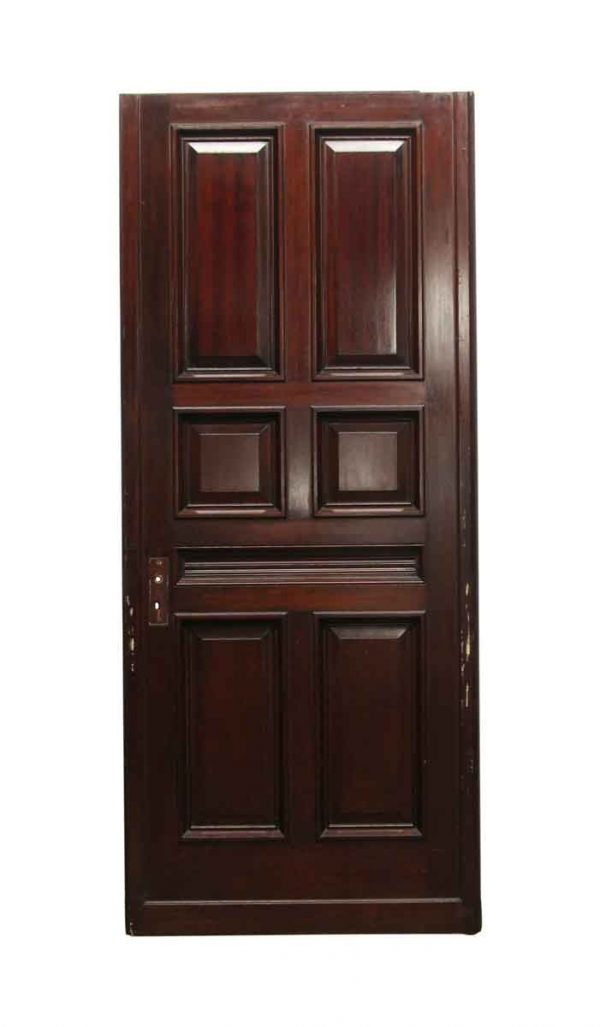 Standard Doors - Antique 7 Panel Wood Door 87.5 x 37