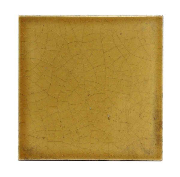 Wall Tiles - Vintage 6 x 6 Mustard Yellow Wall Tile