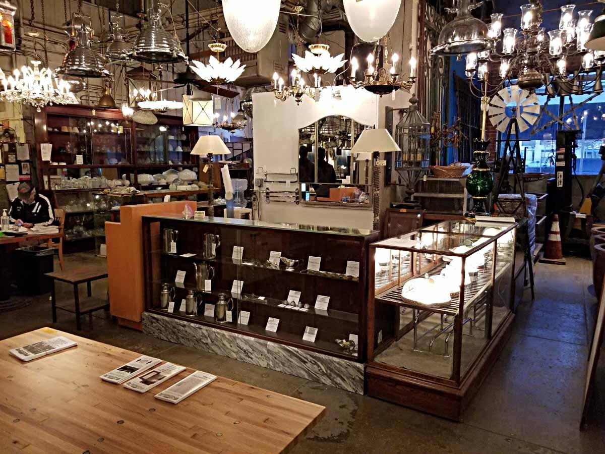 Antique Stores Los Angeles CA