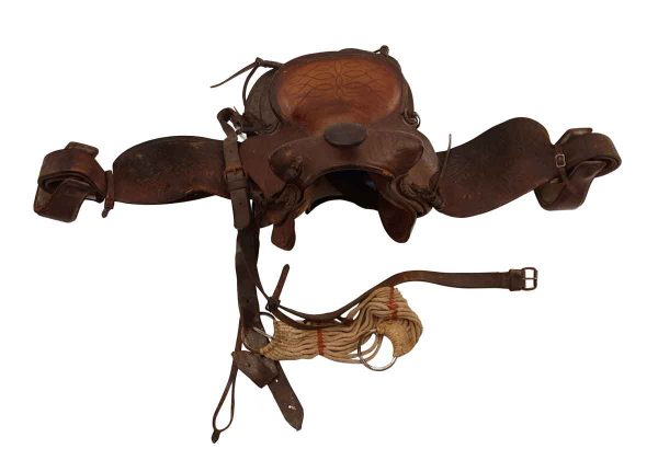 Animal Care - Authentic Leather Horse Saddle
