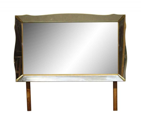 Bedroom - Art Deco 68 in. Dresser Mirror with Mirrored Frame