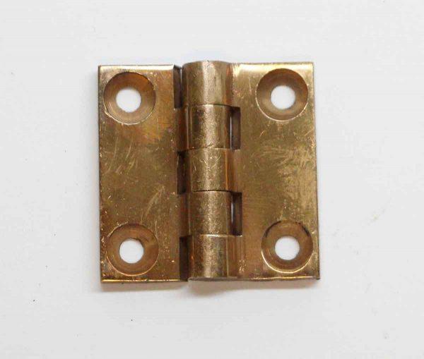 Cabinet & Furniture Hinges - Brass 1.25 x 1.25 Butt Cabinet Hinge