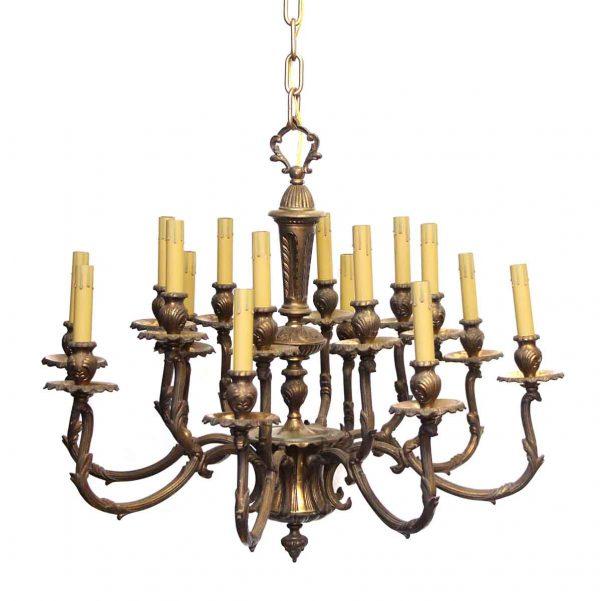 Chandeliers - Antique Bronze 16 Light Rococo Chandelier