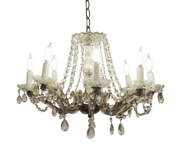 Chandeliers - Marie Therese Crystal Chandelier with 8 Arms