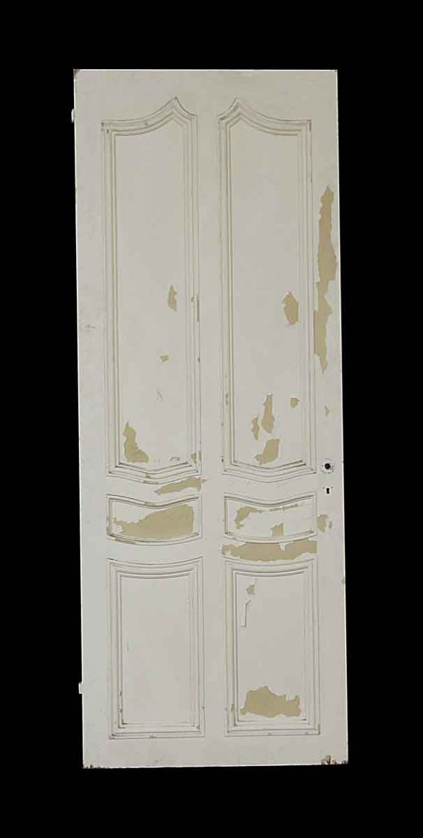 Closet Doors - Vintage Arched 6 Panel Mirrored Closet Door 83 x 31.75