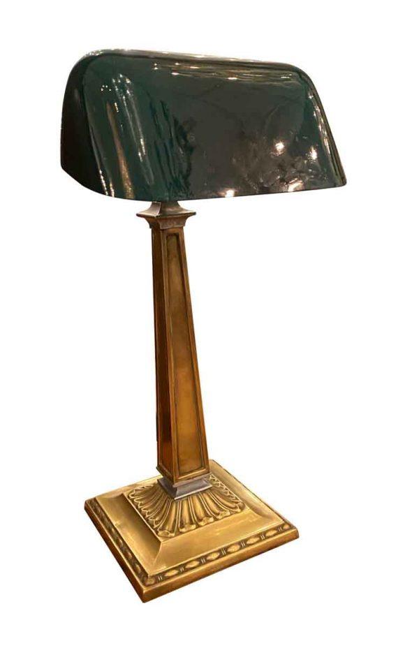 Desk Lamps - Antique Emeralite Bankers Desk Lamp