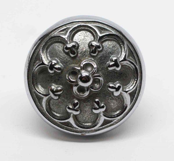 Door Knobs - Antique Gothic Nickel Plated Brass Cornwall Door Knob