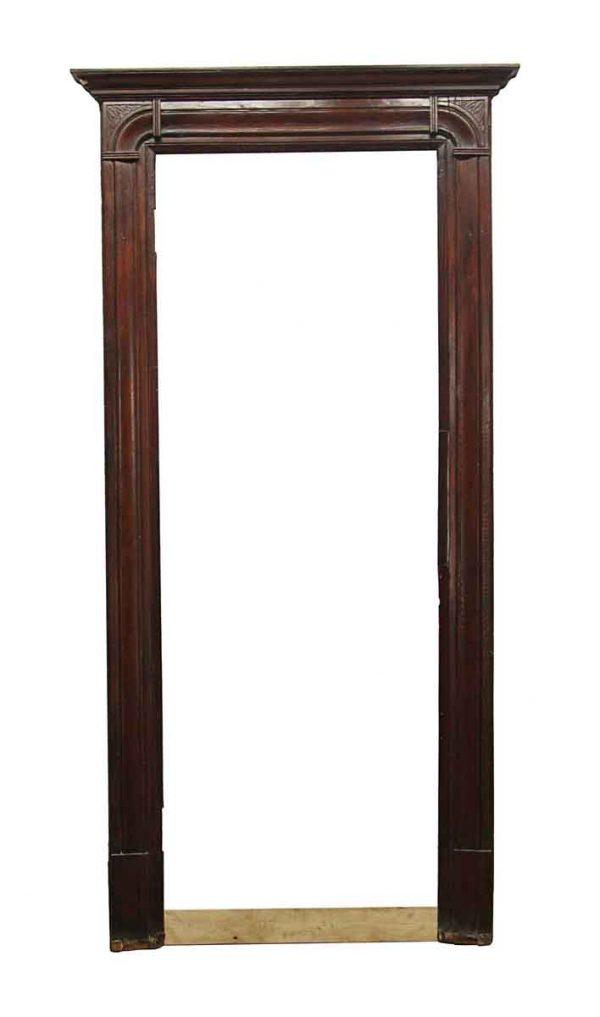 Door Surrounds - Antique Dark Wood Door Surround 100 x 5