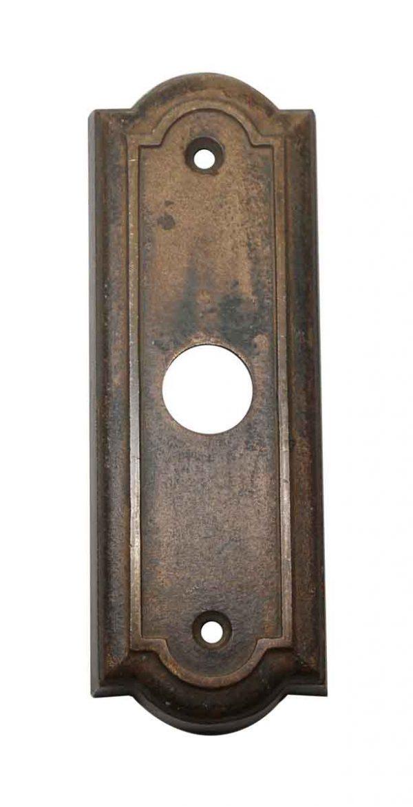 Elevator Hardware - 1900s Cast Bronze Elevator Call Bell