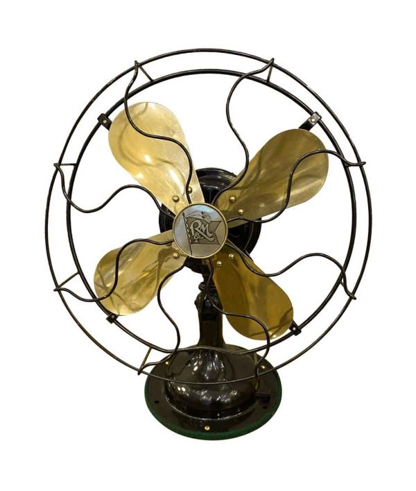 Fans - Restored Antique Robbins & Meyers Desk Fan