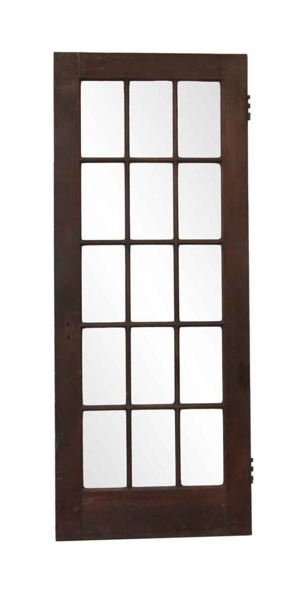 French Doors - Antique 15 Lite Wood French Door 79.25 x