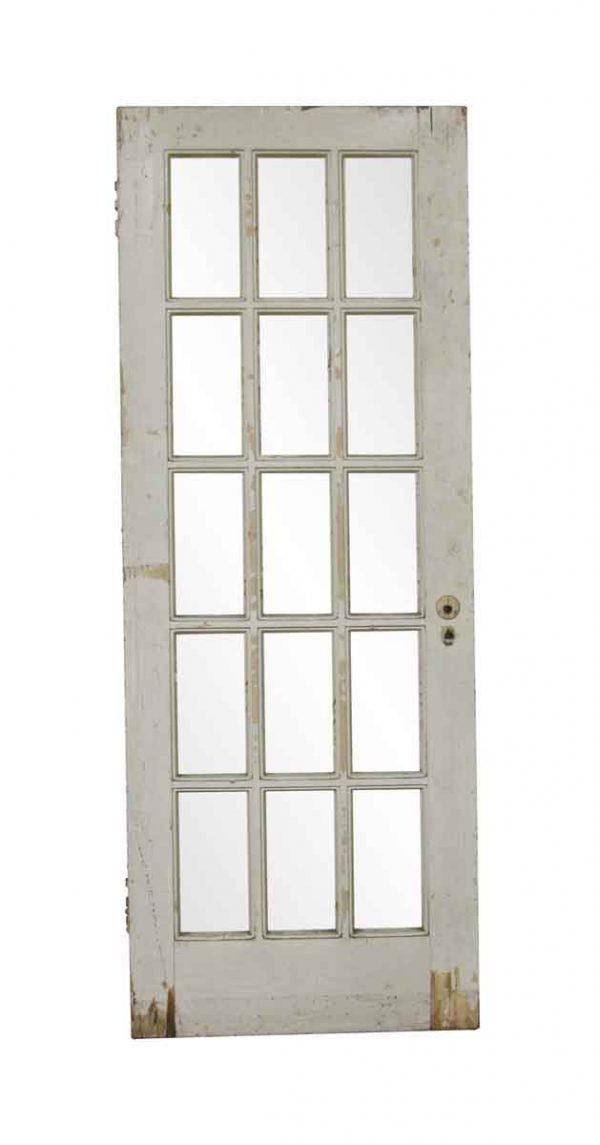 French Doors - Antique 15 Textured Lite French Door 78.625 x 20.75