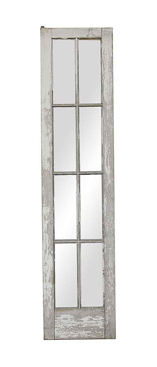 French Doors - Vintage 8 Lite Wooden French Door 87 x 20.25