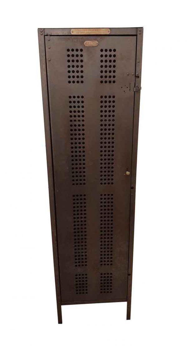 Industrial - Tall Narrow Steel Churchill & Spalding Locker