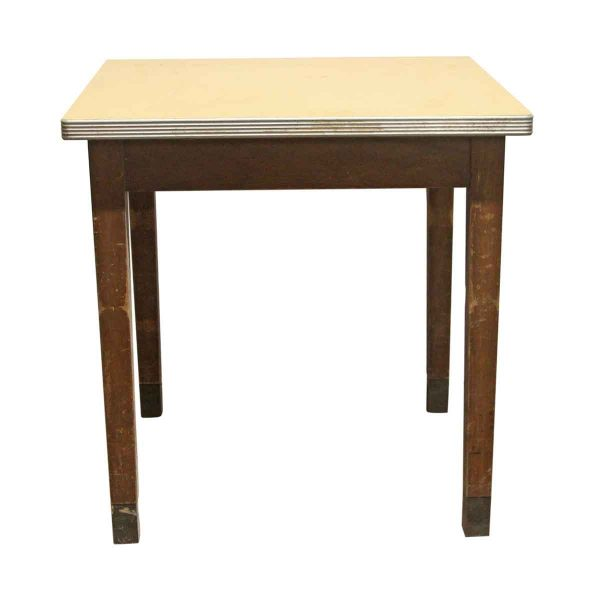 Kitchen & Dining - 1940s Art Deco 30 in. Square Thonet Table