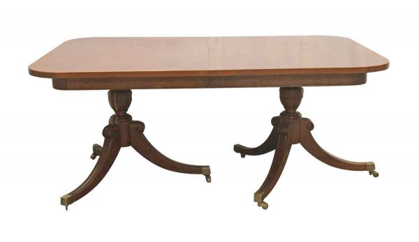 Kitchen & Dining - Duncan Phyfe Style 5 Foot Dining Room Table