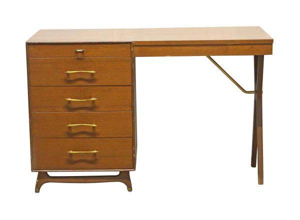 Office Furniture - Rway Mid Century 5 Drawer Desk