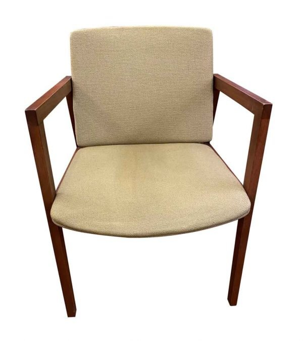 Seating - Mid Century Green Upholstered Chair