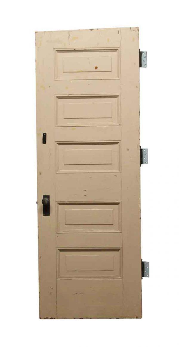 Standard Doors - Old 5 Panel Wood Privacy Door 83.5 x 29.875