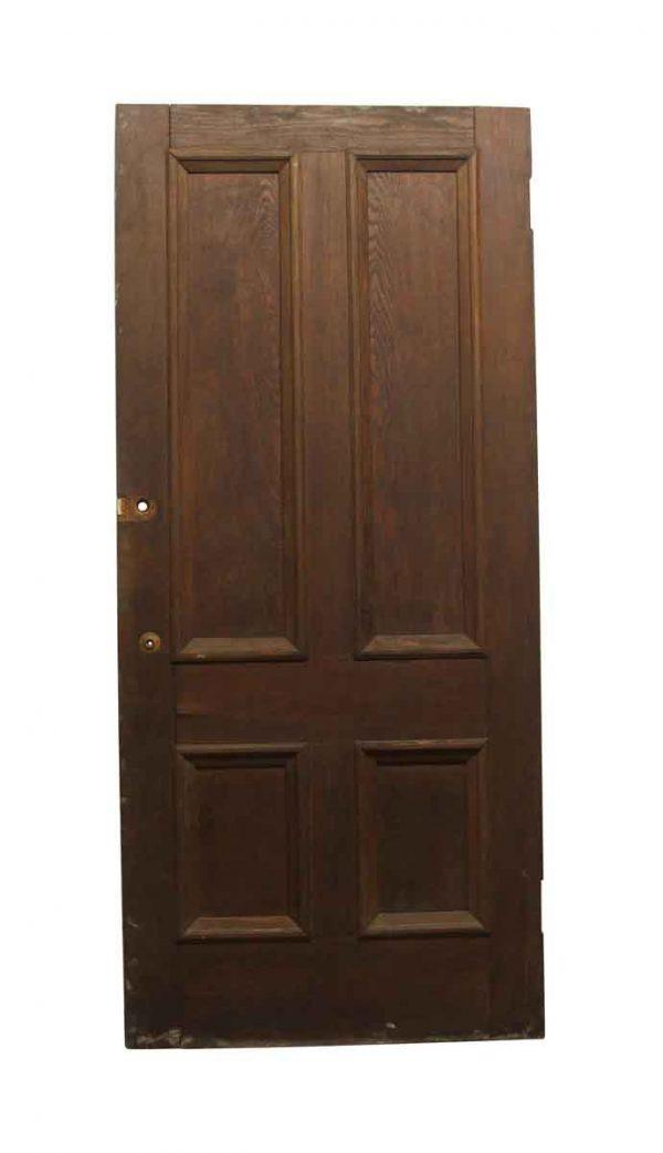 Standard Doors - Old Chestnut 4 Panel Privacy Door 90 x 40.25