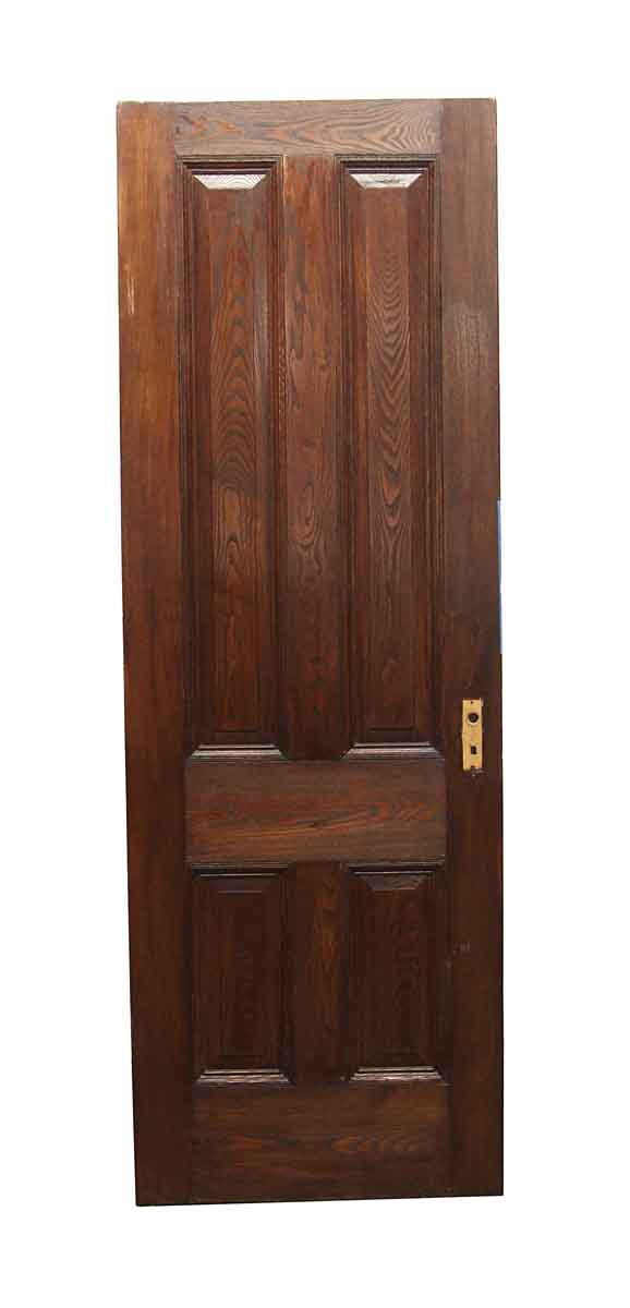 Standard Doors - Vintage 4 Panel Chestnut Passage Door 87 x 29.75