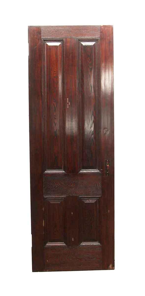 Standard Doors - Vintage 4 Panel Chestnut Passage Door 87 x 30