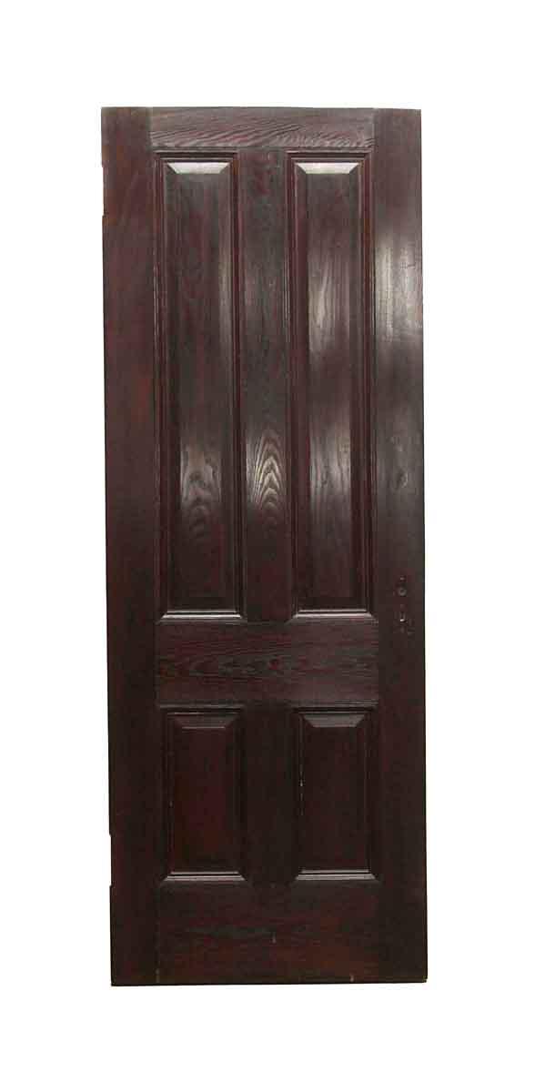 Standard Doors - Vintage 4 Panel Chestnut Passage Door 87 x 31.75