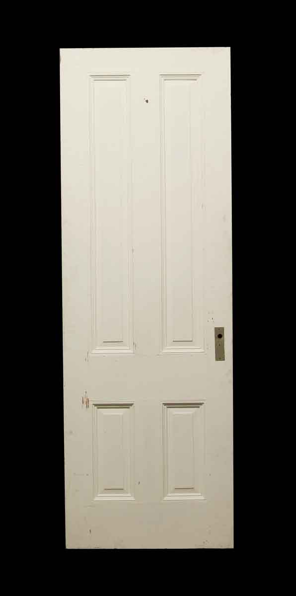 Standard Doors - Vintage 4 Panel Chestnut Passage Door 88 x 29.75