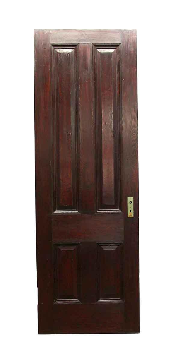 Standard Doors - Vintage 4 Panel Chestnut Passage Door 88.5 x 29.75