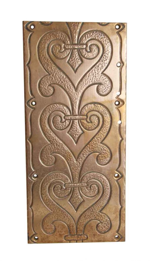 Applique - Ornate Solid Bronze Wall Plate