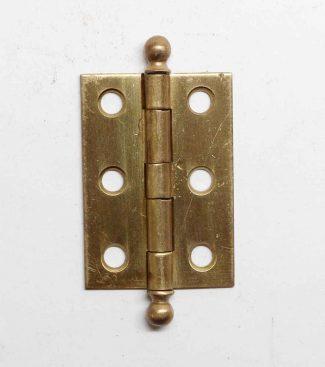 Vintage 1950/'s NOS Japanned Antique COPPER Cabinet Door Hinges for Flush Doors
