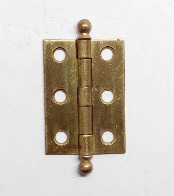Cabinet & Furniture Hinges - Antique Brass 1.75 x 1.25 Butt Cabinet Hinge