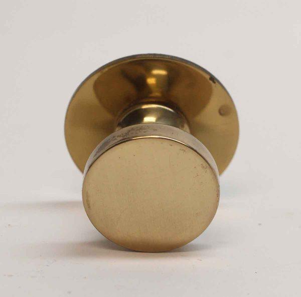 Cabinet & Furniture Knobs - Vintage Polished Brass Cabinet Knob with Rosette