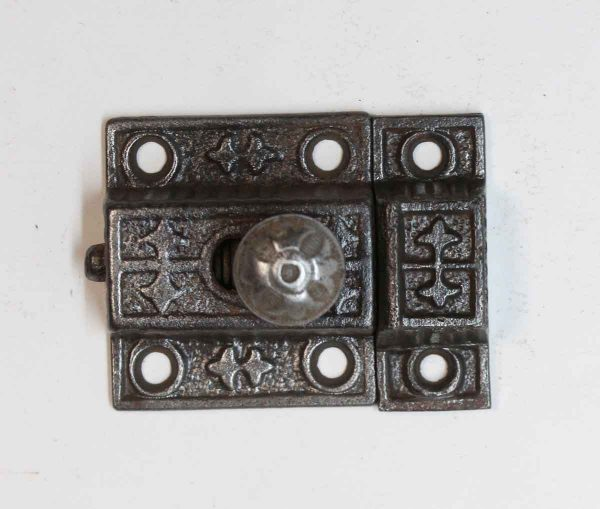 Cabinet & Furniture Latches - Aesthetic Antique Cast Iron Black Cabinet Latch