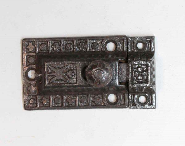 Cabinet & Furniture Latches - Antique Sargent Cast Iron Cabinet Latch
